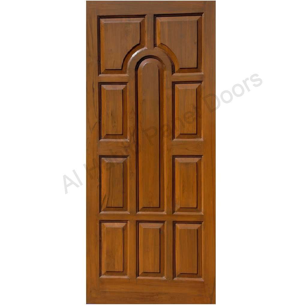 Solid Wood Single Door Design photo - 6