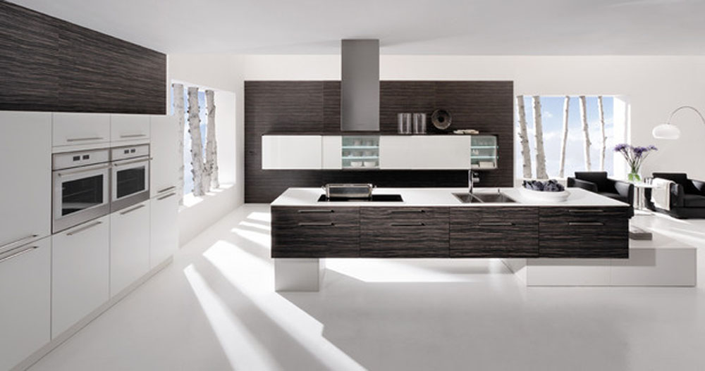 White Modern Kitchen photo - 4