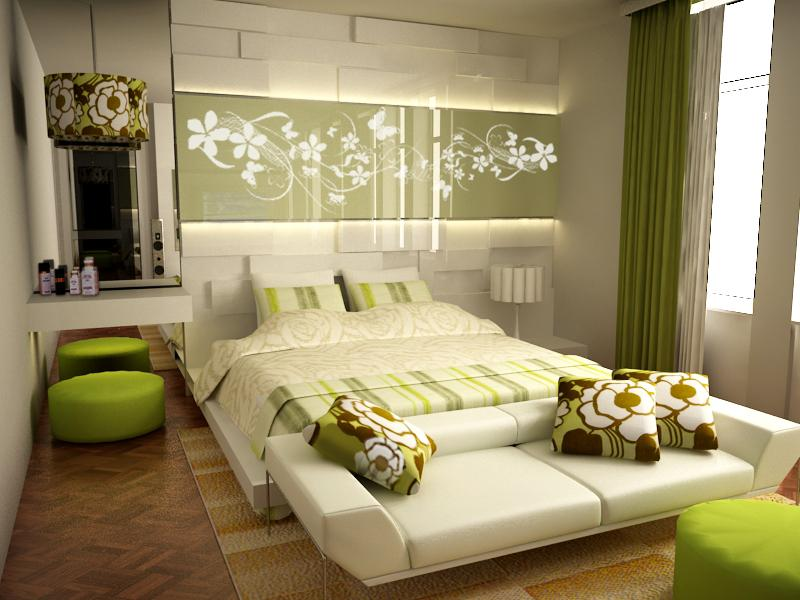White and Wood Bedroom photo - 1