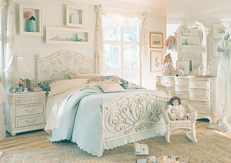 White and Wood Bedroom photo - 4