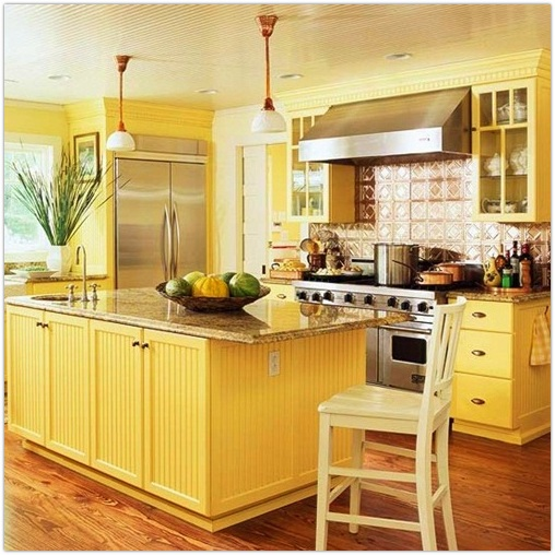 Yellow Kitchen photo - 2