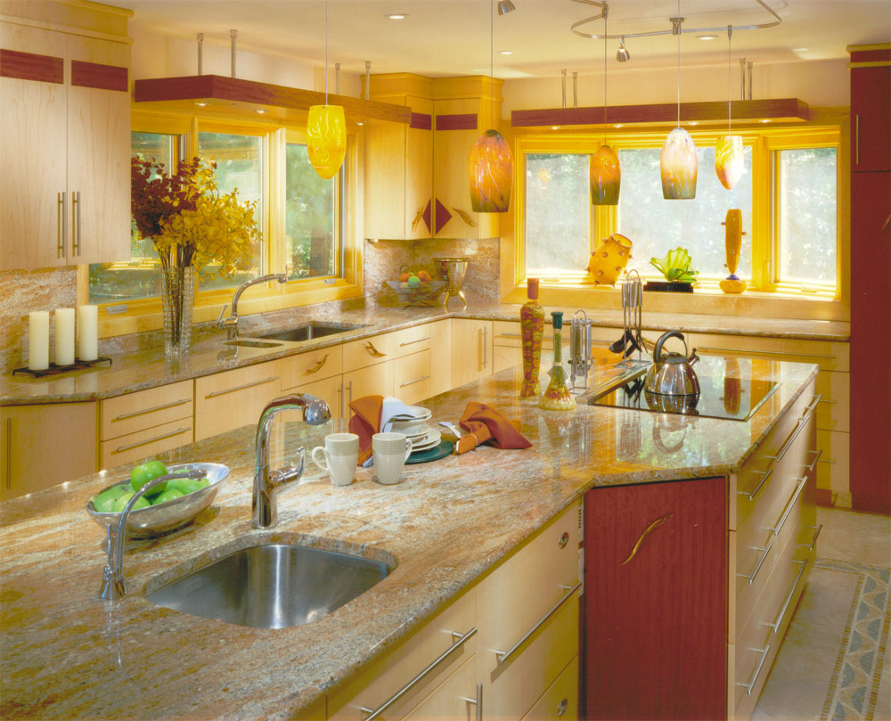 Yellow Kitchen photo - 3