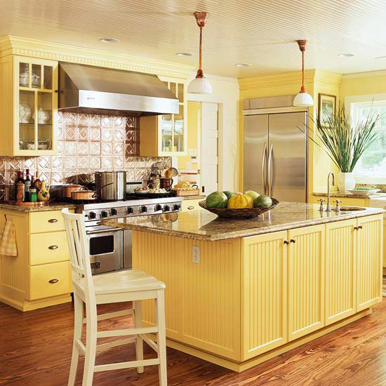 Yellow Kitchen photo - 4