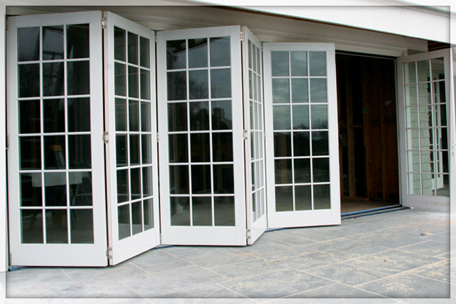 accordion patio doors photo - 4