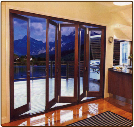 accordion patio doors photo - 7