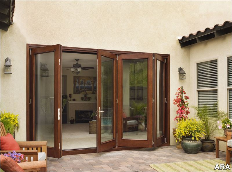 accordion patio doors photo - 8