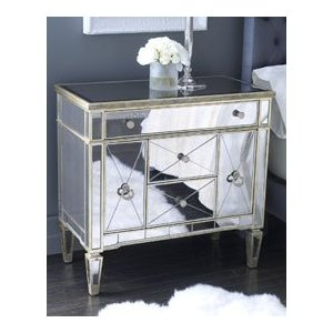 affordable mirrored bedroom furniture photo - 1