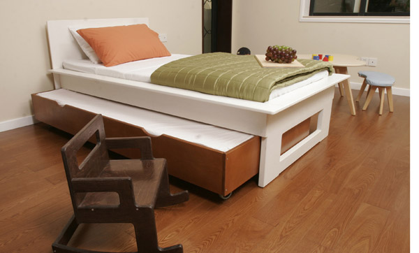 affordable modern twin beds for kids photo - 3