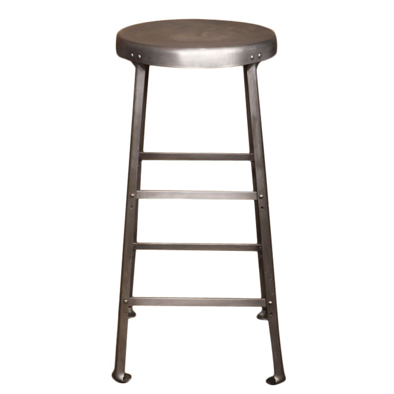 aluminum bar stools without backs photo - 5