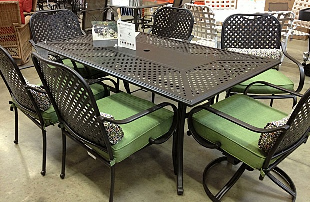 Aluminum Patio Furniture Home Depot