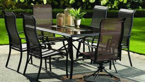 aluminum patio furniture target photo - 5