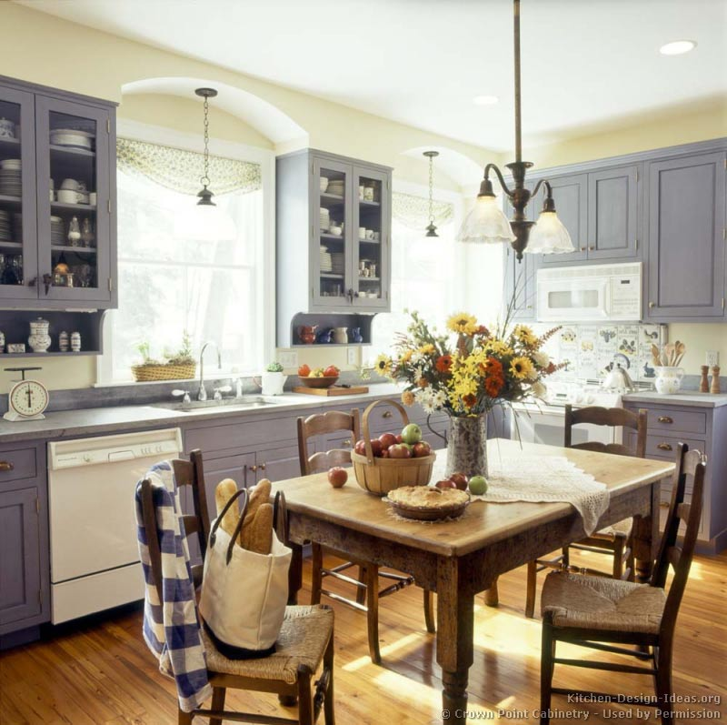 TOP American Country Kitchen Designs 2018