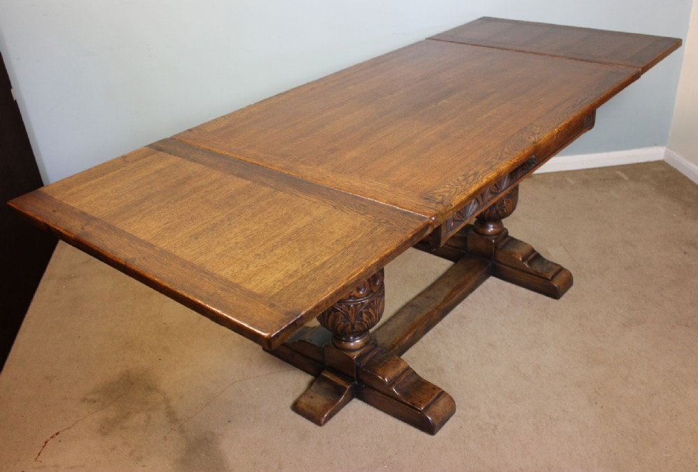 antique kitchen dining table photo - 1