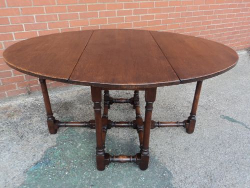 antique kitchen dining table photo - 2