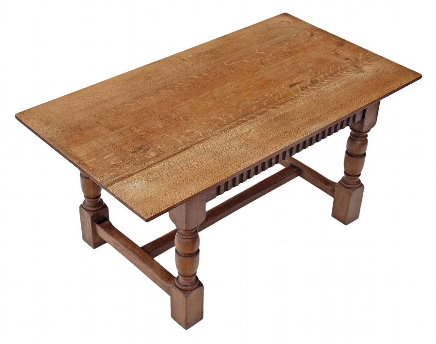 antique kitchen dining table photo - 6
