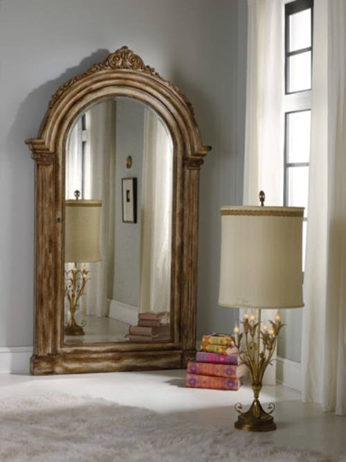 antique mirrored bedroom furniture photo - 1