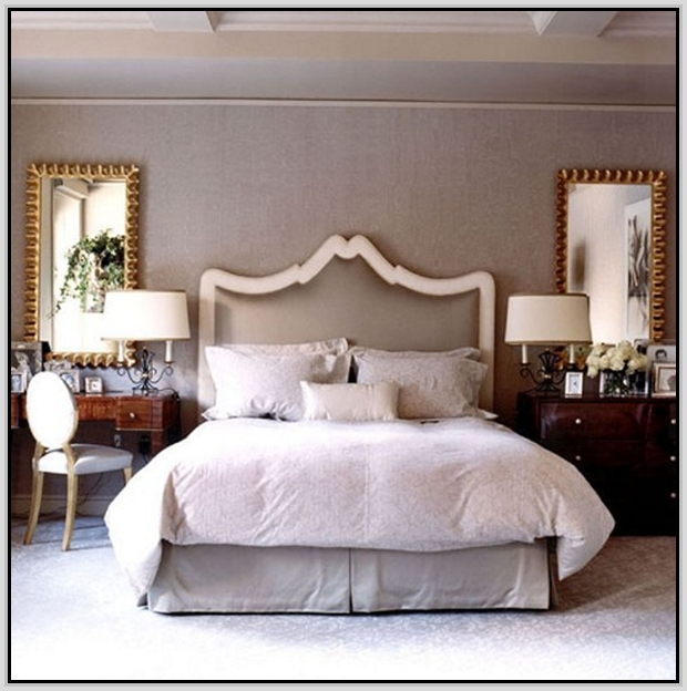 antique mirrored bedroom furniture photo - 4
