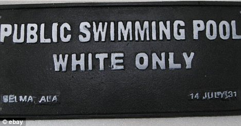 antique swimming pool signs photo - 3