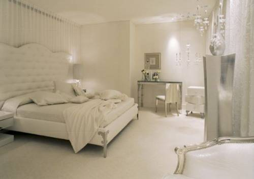 antique white bedroom furniture for girls photo 4. White Furniture  White And Grey Bed Under A Long Window  White