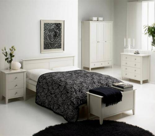 antique white bedroom furniture for kids photo - 1