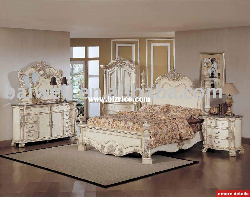 antique white bedroom furniture for kids photo - 2