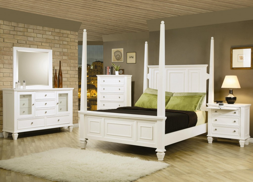 antique white bedroom furniture for kids photo - 3