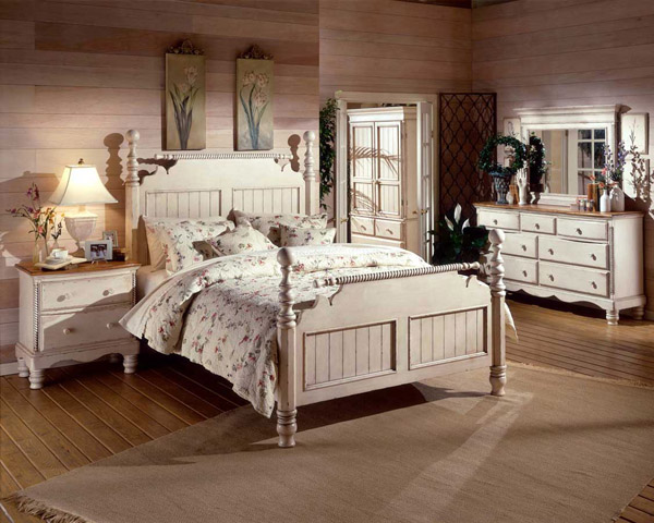 antique white bedroom furniture for kids photo - 4