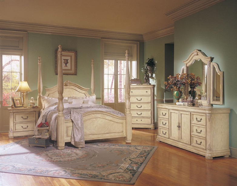 antique white bedroom furniture for kids photo - 6