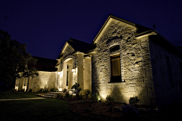 architectural outdoor wall lighting photo - 4