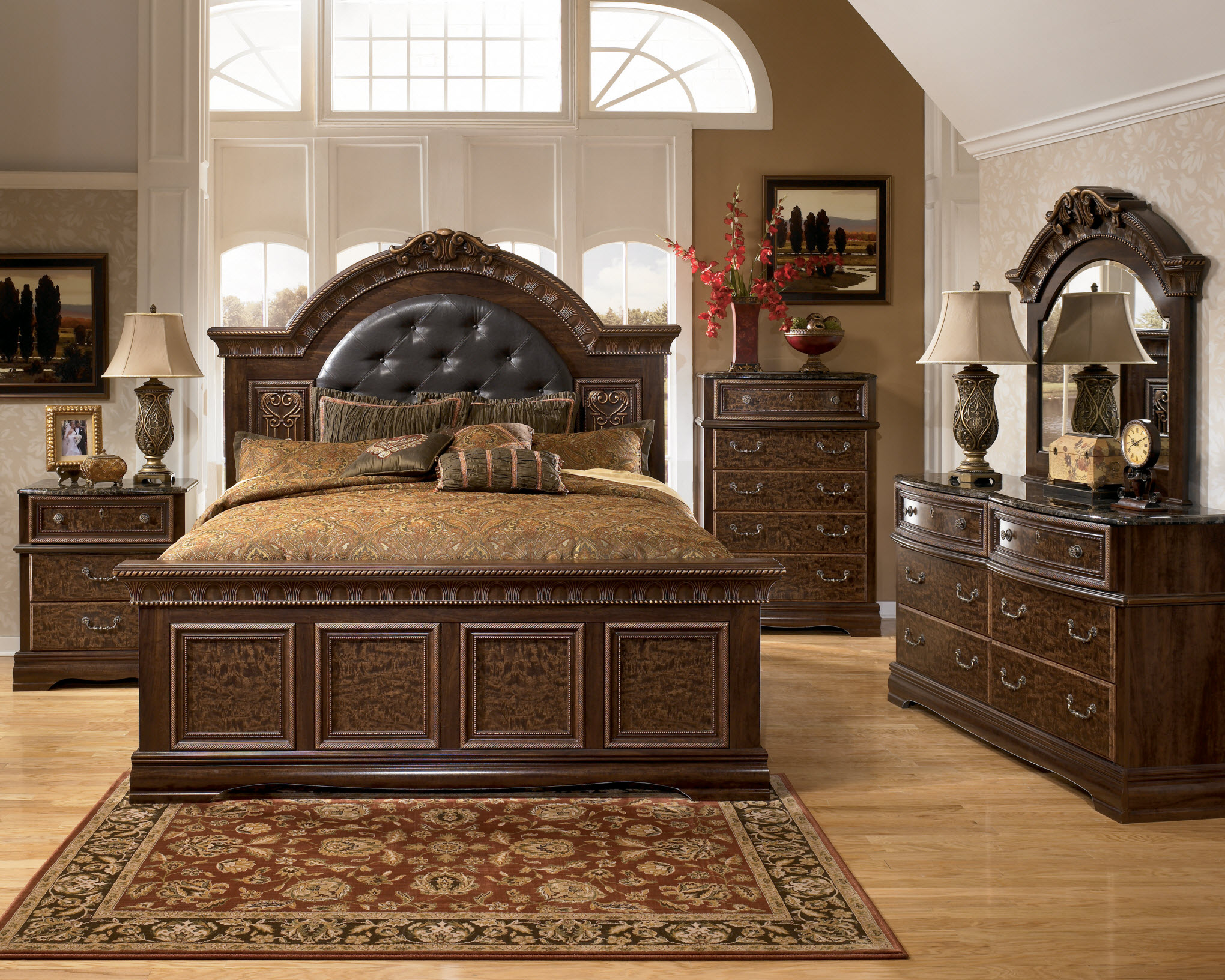 ashley furniture bedroom set quality photo - 6