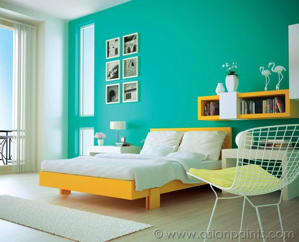 asian paint colour shades bedrooms photo - 1