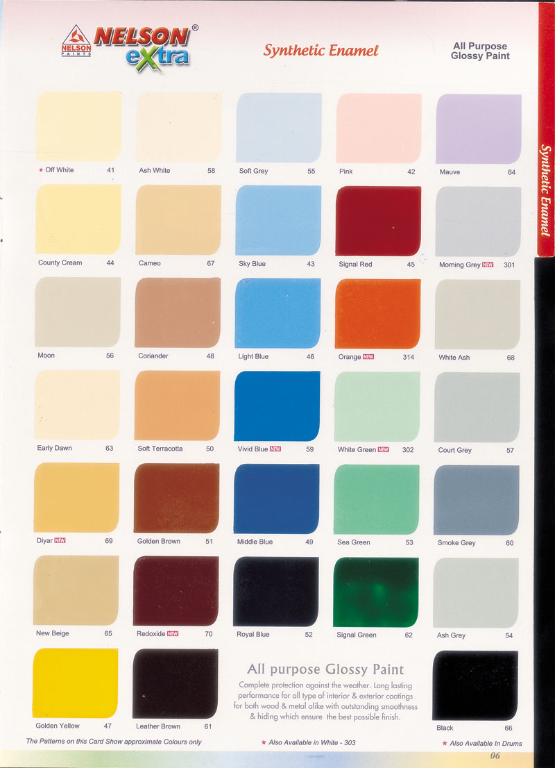 Pics Photos - Asian Paints Shade Card