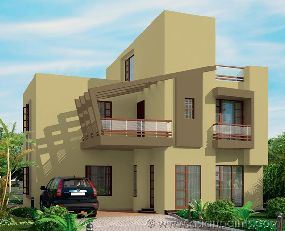 Asian Paints Front Elevation Colours : Asian paints colour shades for exterior walls interior