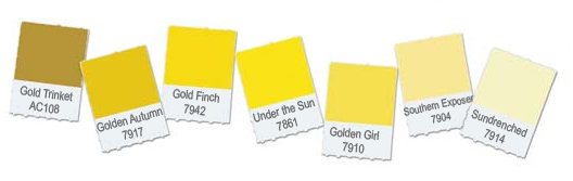 asian paints colour shades in yellow photo - 1