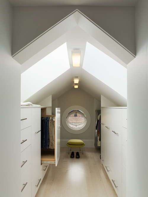 attic walk in closet design photo - 1