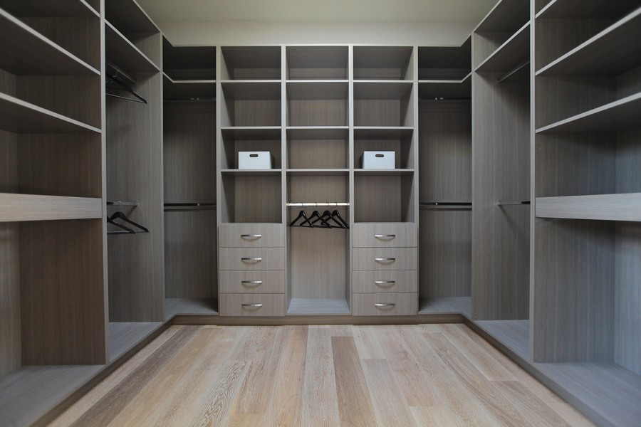 attic walk in closet design photo - 2