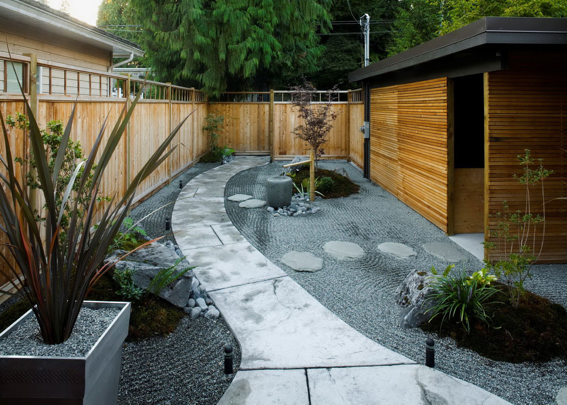 backyard japanese garden design ideas photo - 1