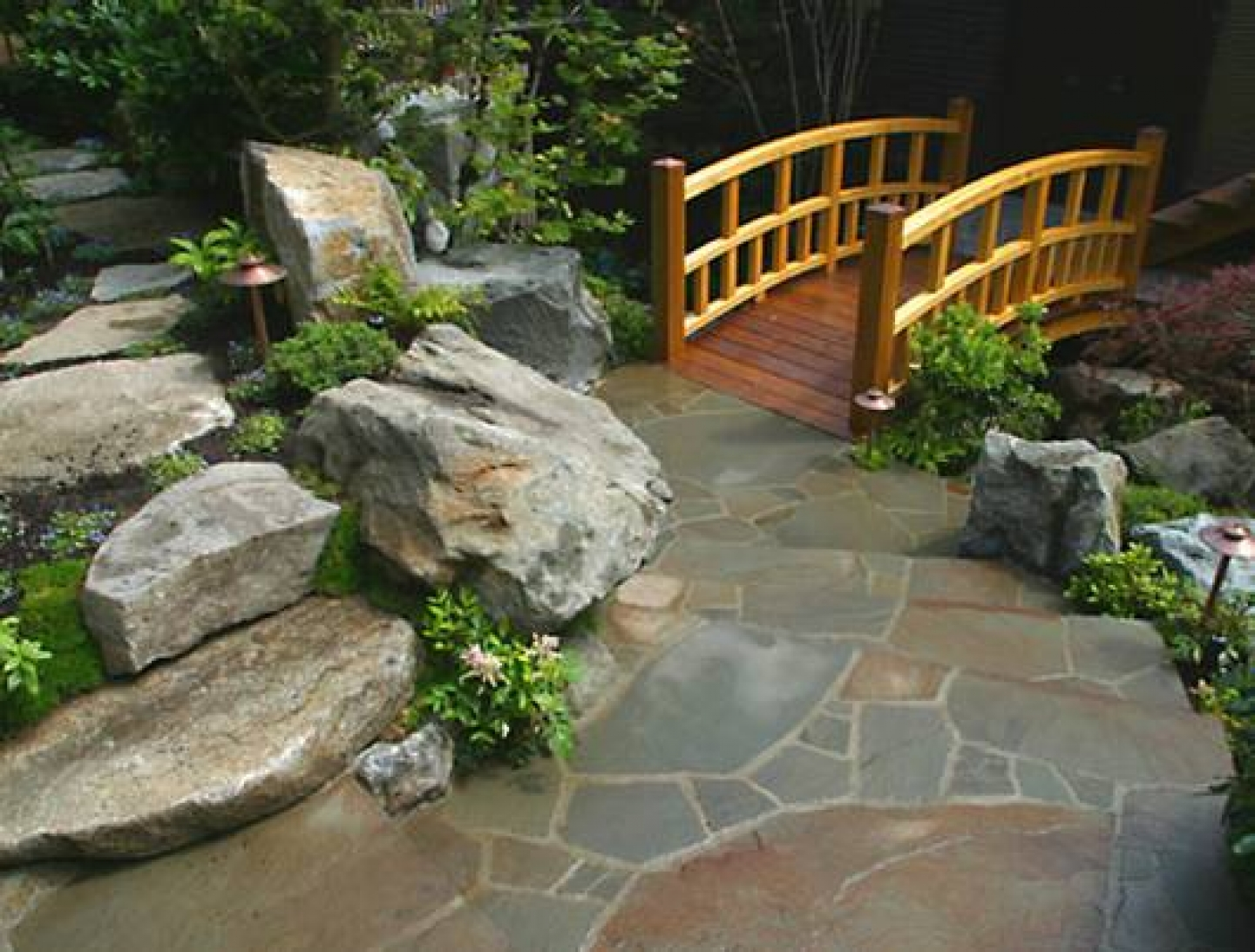 backyard japanese garden design ideas photo - 2