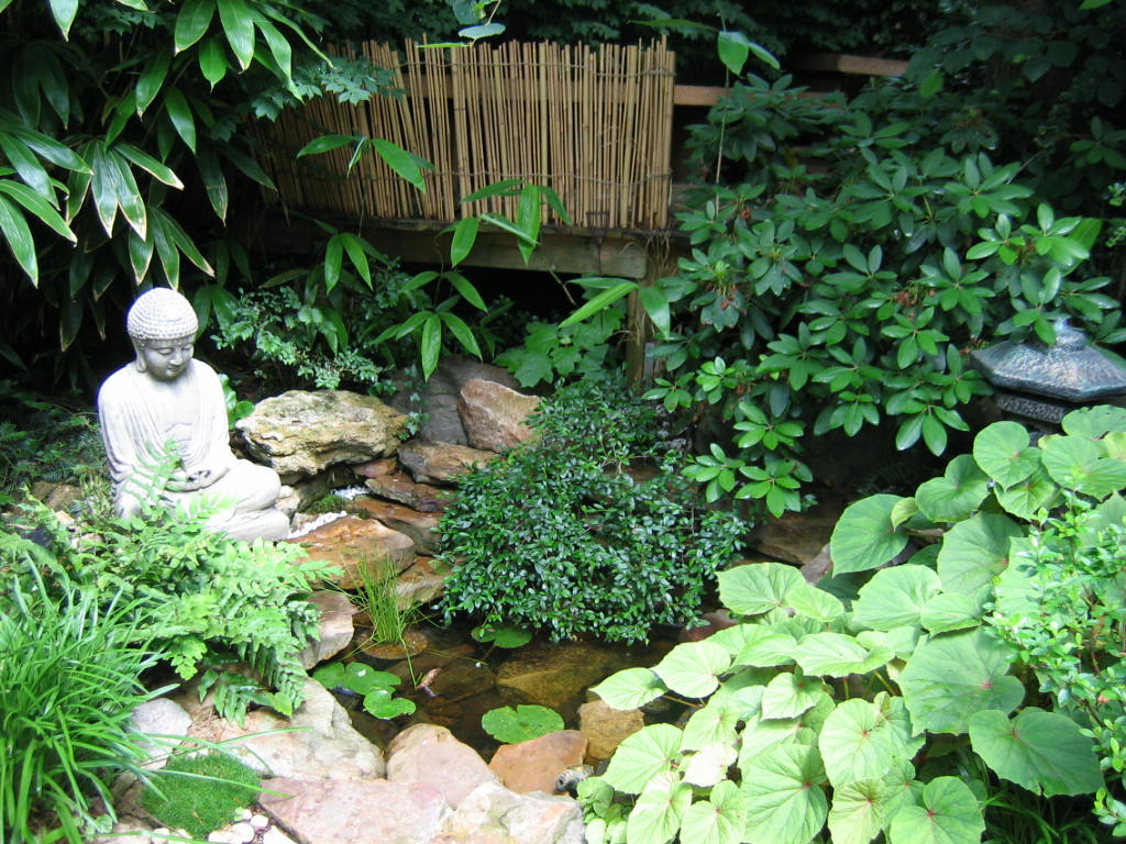 backyard japanese garden design ideas photo - 5