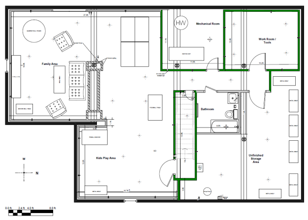 basement plans ideas photo - 3