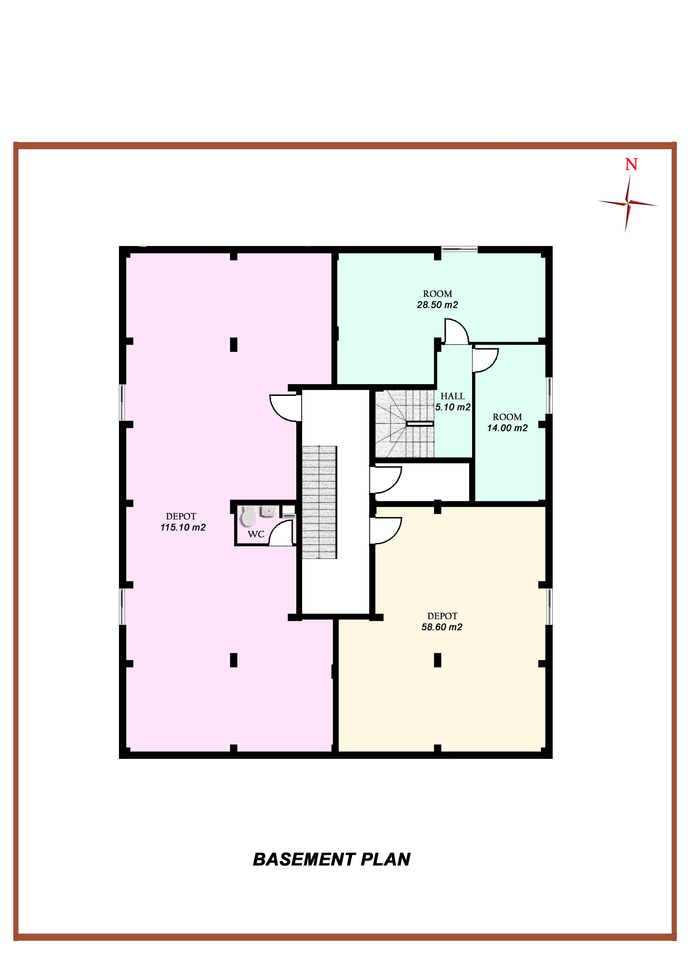 basement plans ideas photo - 6