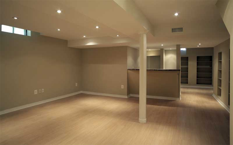 basement remodel ideas plans photo - 4
