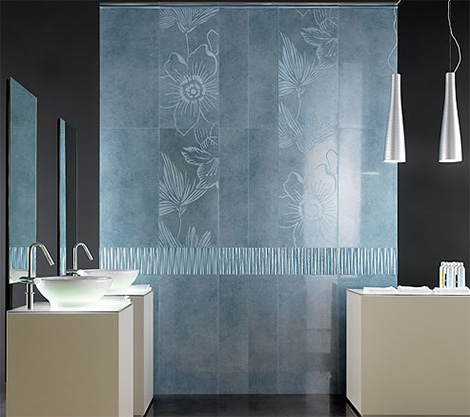 bathroom tile designs contemporary photo - 4