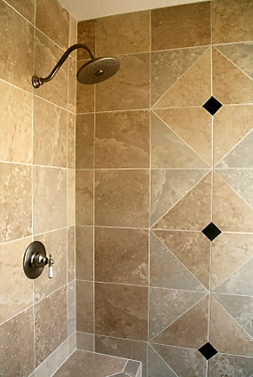 bathroom tile designs layout photo - 4