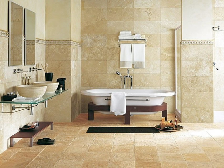 bathroom tile designs layout photo - 5