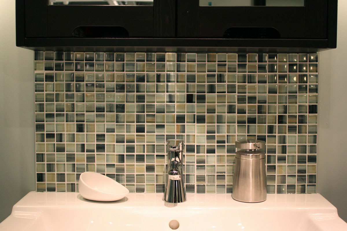 bathroom tile designs mosaic photo - 5