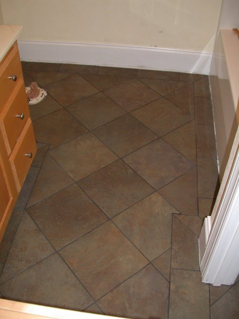 bathroom tile floor designs pictures photo - 2