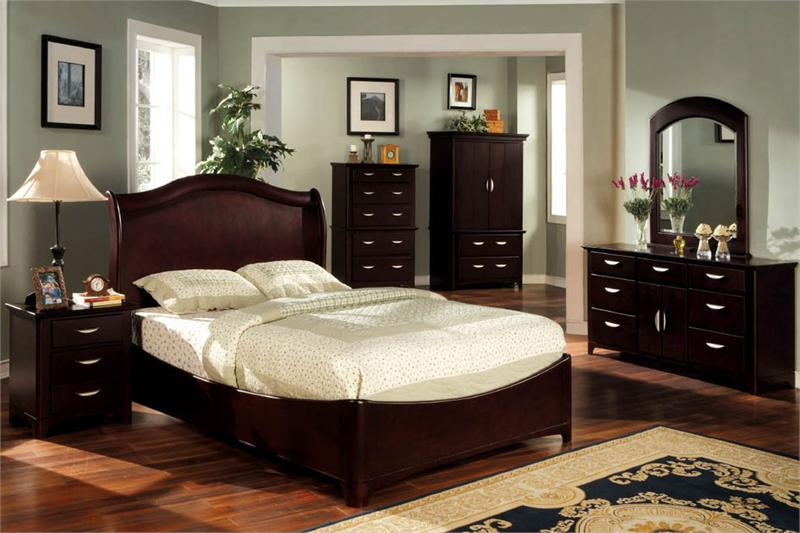 bedroom black furniture paint colors photo - 3