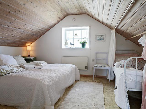 bedroom designs attic rooms photo - 1