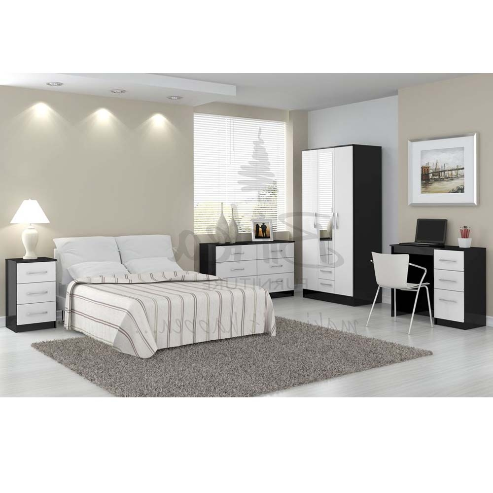 Bedroom furniture black and white. Bedroom furniture black and white   Interior   Exterior Doors